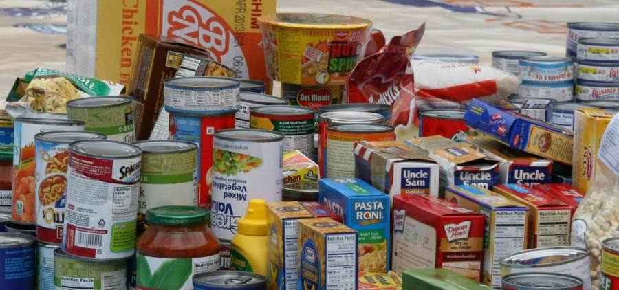 Food from a foodbank