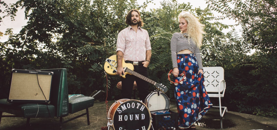 Husband-wife musical duo Smooth Hound Smith are headed to the Eclipse Company Store and Craft Beer Hall Friday, September 8. (smooth houndsmith.com)