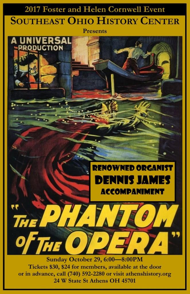 Dennis James Phantom Poster