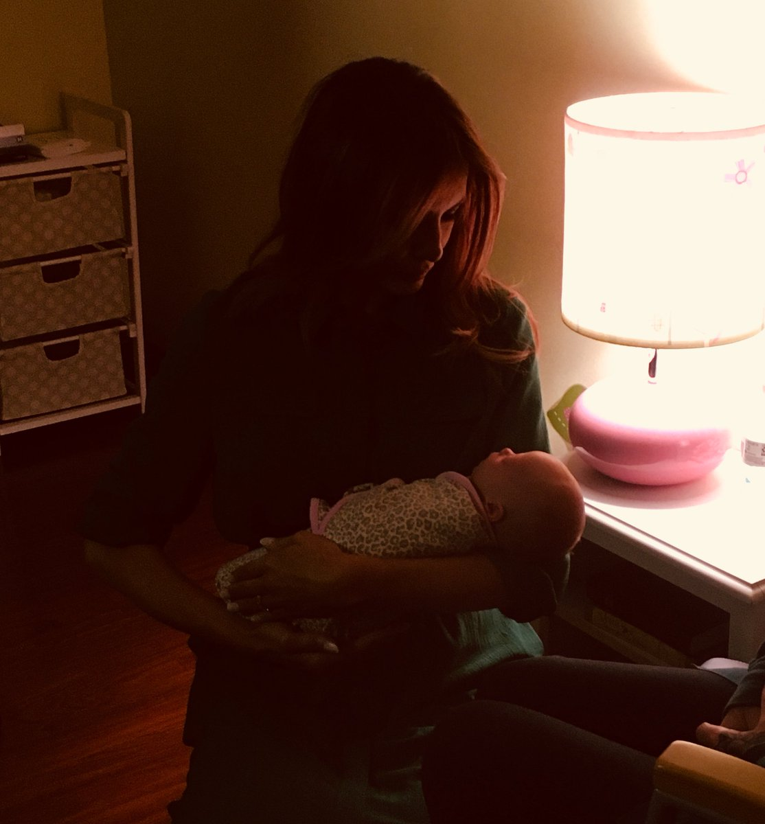 First Lady Melania Trump with an infant born affected by opioids. (Courtesy White House, Office of the First Lady)