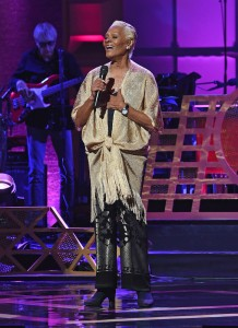 NEW YORK, NY - JULY 11:  Dionne Warwick performs onstage during the GRAMMY Salute to Music Legends at Beacon Theatre on July 11, 2017 in New York City.  (Photo by Jamie McCarthy/Getty Images for NARAS)