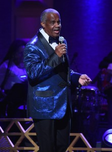 NEW YORK, NY - JULY 11:  Russell Thompkins, Jr. performs onstage during the GRAMMY Salute to Music Legends at Beacon Theatre on July 11, 2017 in New York City.  (Photo by Jamie McCarthy/Getty Images for NARAS)
