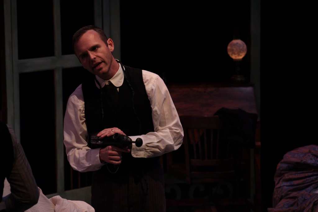 Brian Epperson as Dr. Givings. (Lisa Buch/WOUB Public Media)