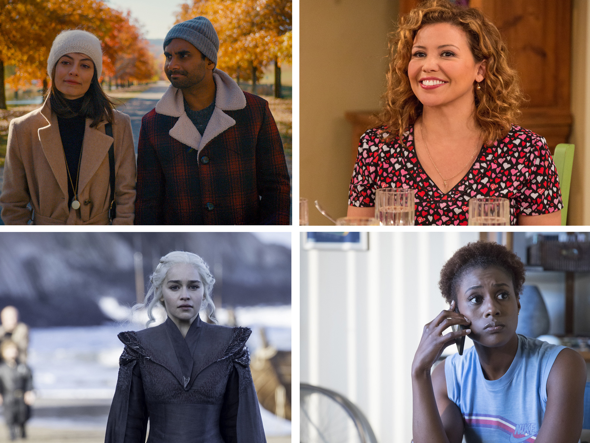 Big Little Lies, Master of None, One Day at a Time, The Handmaid's Tale, Game of Thrones and Insecure all made NPR's top list.