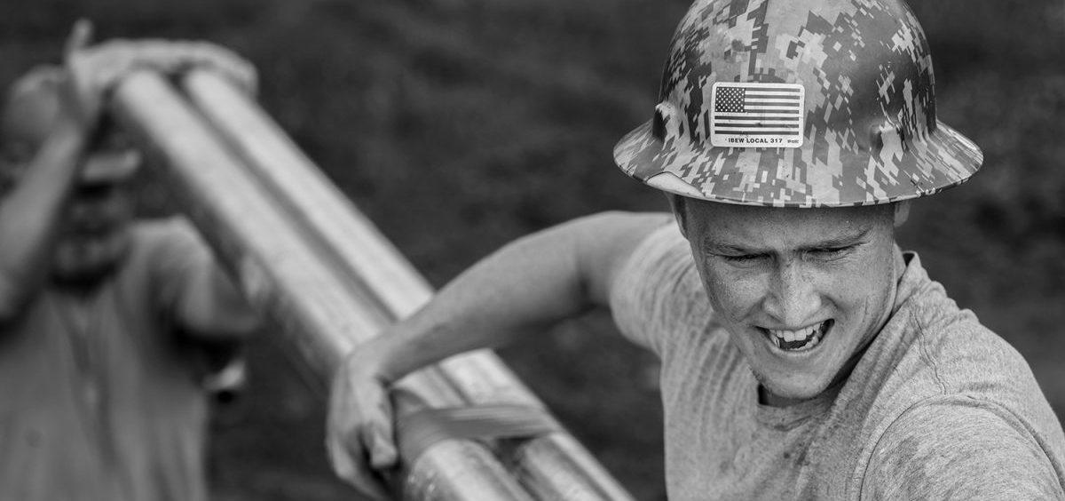 Jacob Dyer at the Coalfield Development Corporation site.