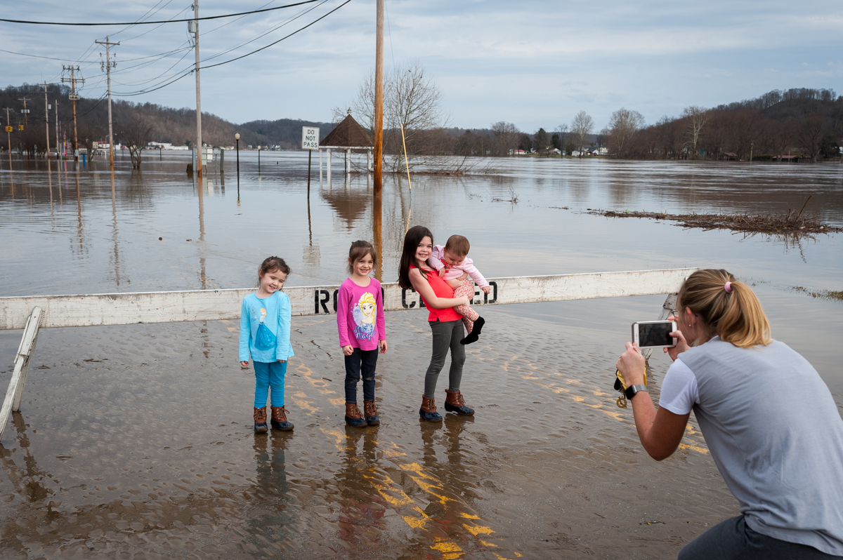 Clean-Up Begins As Ohio River Recedes In Pomeroy - WOUB