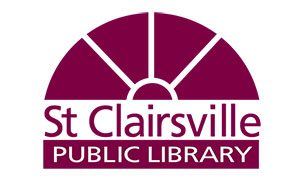 St, Clairesville Public library logo