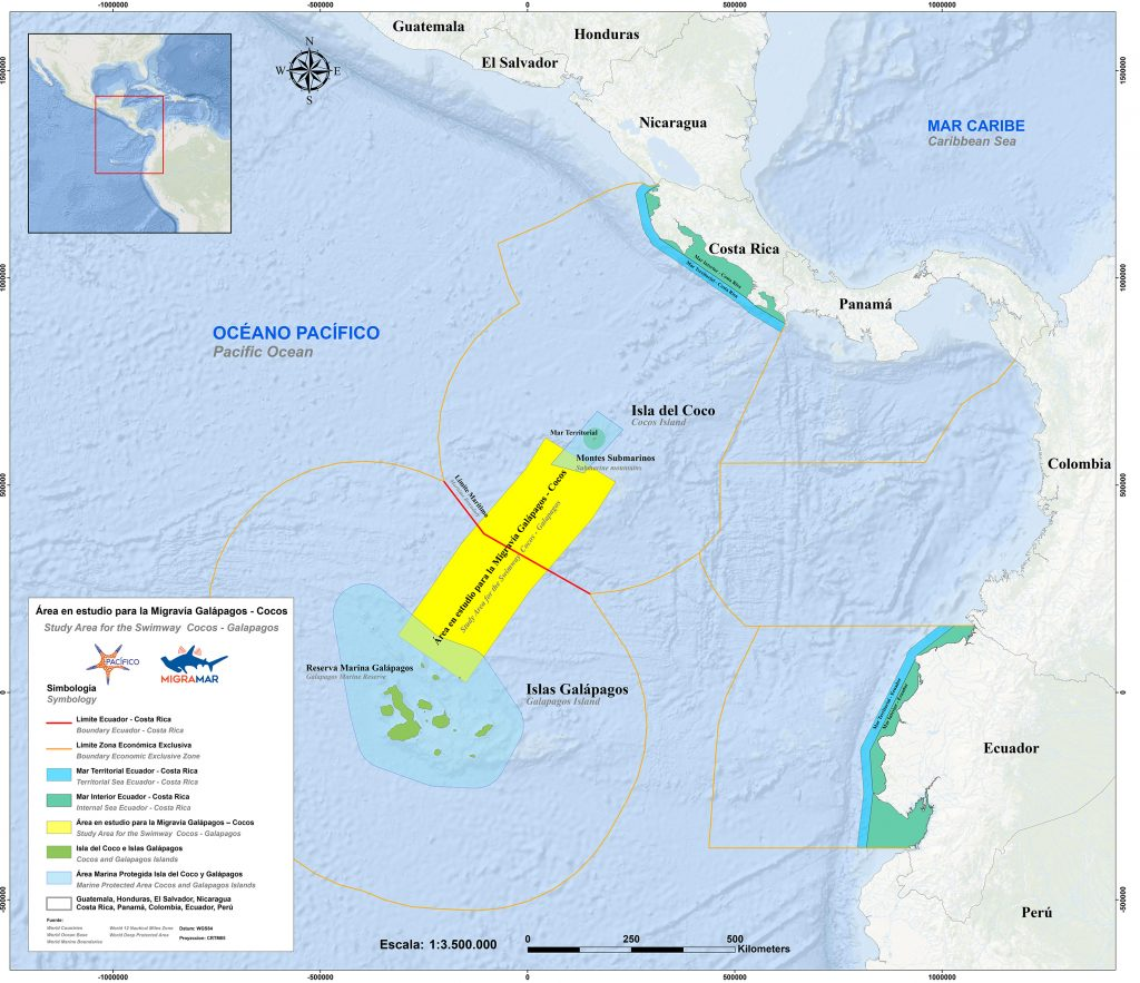 A map shows the location of the swimway in yellow.