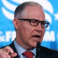 EPA Administrator Scott Pruitt speaks at the Faith and Freedom conference in Washington, DC, on June. Pruitt is facing multiple ethics scandals from his actions since taking over the agency.