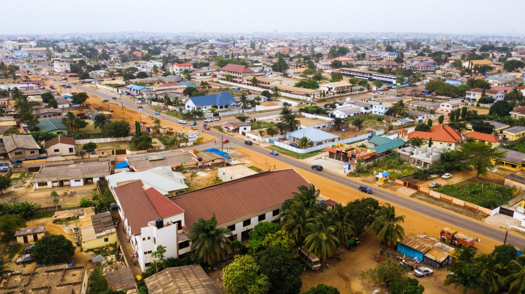 This neighborhood, on the outskirts of Ghana's capital Accra, is home to 5-year-old Herbert Agbavor. Private preschools have been popping up every few blocks.