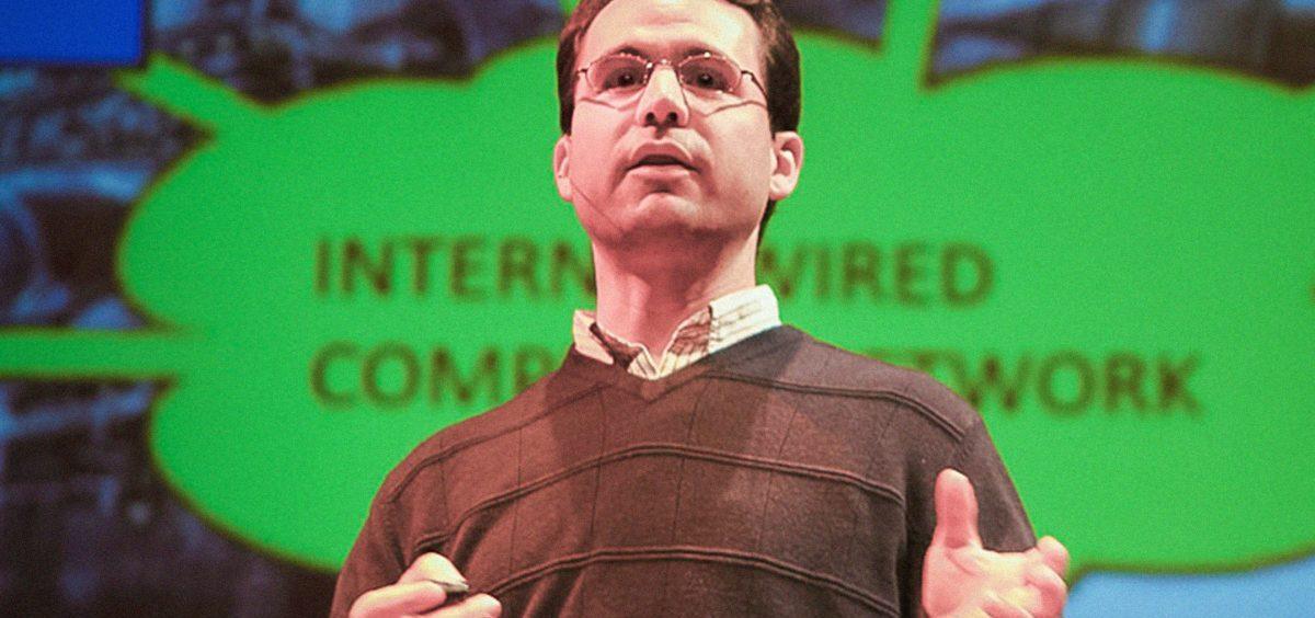Computer scientist Avi Rubin speaking at TEDxMidAtlantic.
