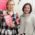 """Jana Krocakova and Petra Plankova of Mamma HELP show off their new brew aimed at helping breast cancer patients undergoing chemo to """"feel normal"""" and overcome their impaired sense of taste."""