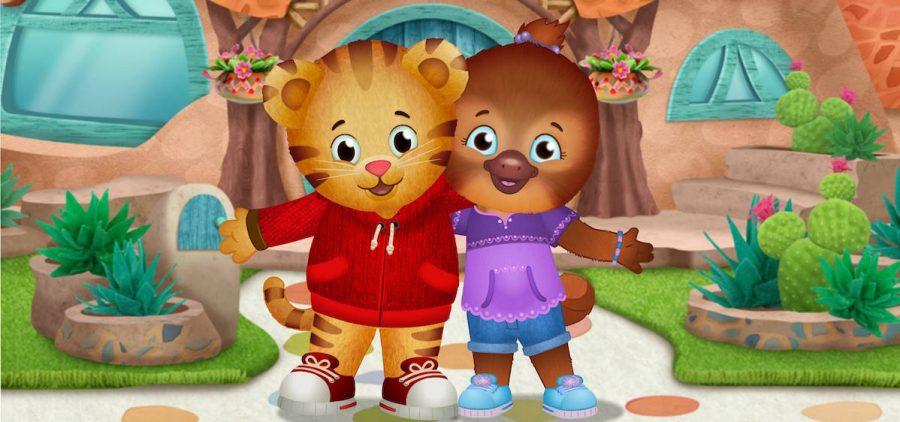 Daniel Tiger and friend