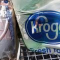 Single-use plastic bags like these are going to be phased out from Kroger grocery stores.