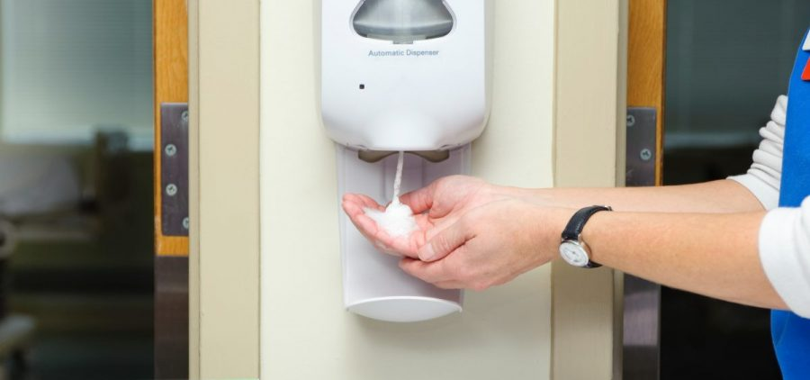 "A study has found that some bacteria are becoming ""more tolerant"" of the alcohol-based hand sanitizers used in hospitals."