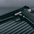 A handgun