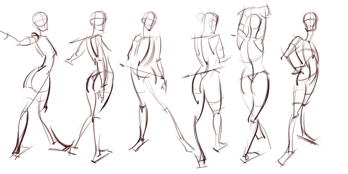 This is a picture of Gorgeous Figure Drawing Basics