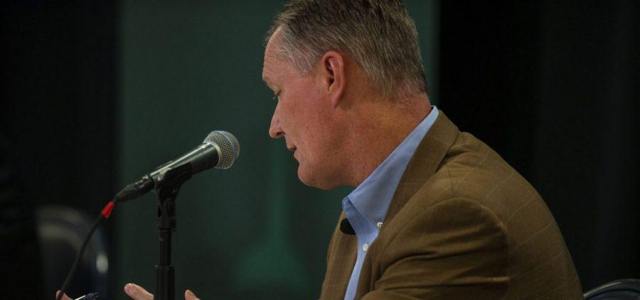 Rep. Steve Stivers debates Thursday night at Ohio University