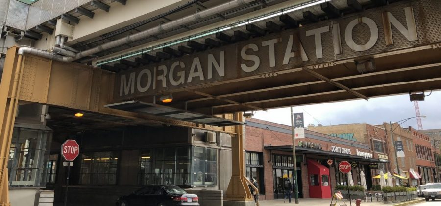 "McDonald's moved its corporate headquarters from the Chicago suburbs into the city. The new location is near two Chicago Transit Authority ""L"" stops, including Morgan Station, a 2012 addition to the system."