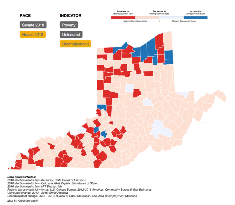 A Data Dive Into The Ohio Valley Midterm Election Results - WOUB Digital