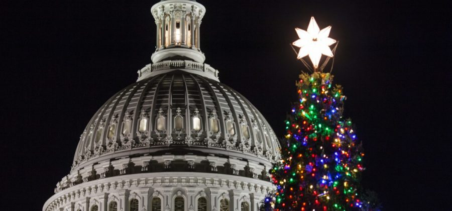 Lawmakers are anxious to approve a temporary government funding bill and head home for the holidays.