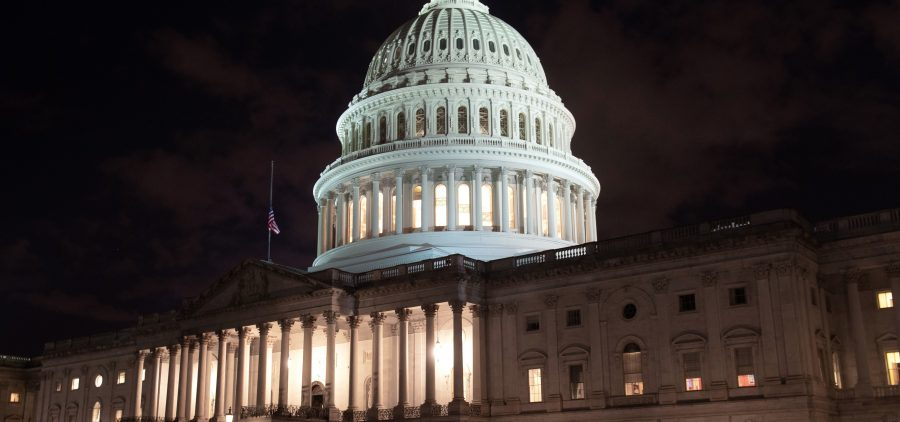The U.S. Capitol is seen ahead of a partial government shutdown, in Washington, D.C., Friday.