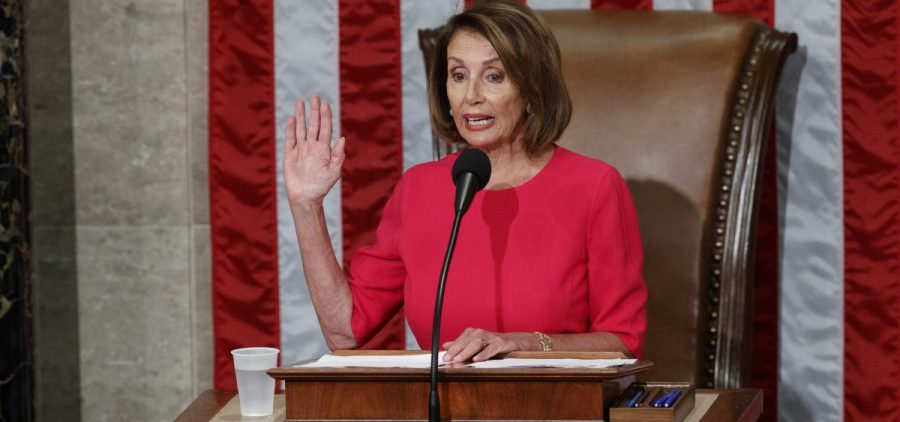 "House Speaker Nancy Pelosi said in a speech Thursday to the new Congress that Democrats want ""to lower health care costs and prescription drug prices and protect people with pre-existing medical conditions."""