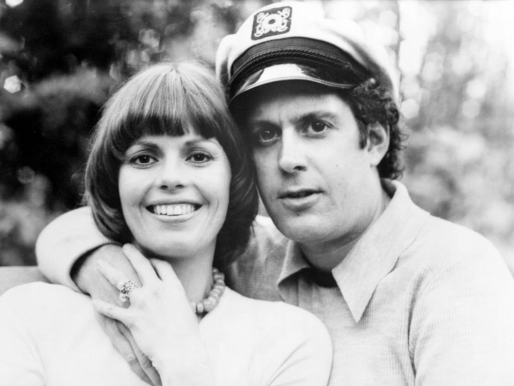 Daryl Dragon and his wife Toni Tennille, in an archival photo.