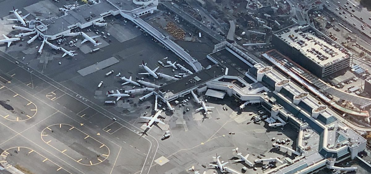 New York's LaGuardia Airport and a few others experienced delays on Friday morning, as the FAA said it was experiencing an uptick in workers calling in sick. LaGuardia is seen here in November.