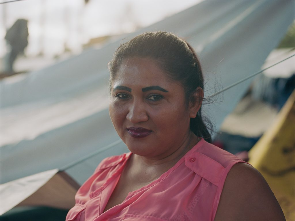 """He would always mess my life up, making demands and threatening me if I would not give back the photos I would take of myself all bruised up after his beatings,"" Arita said. ""I did this thinking if and when I would ask for asylum in the U.S., I will show them the photos."""