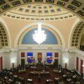 The West Virginia Senate Chambers