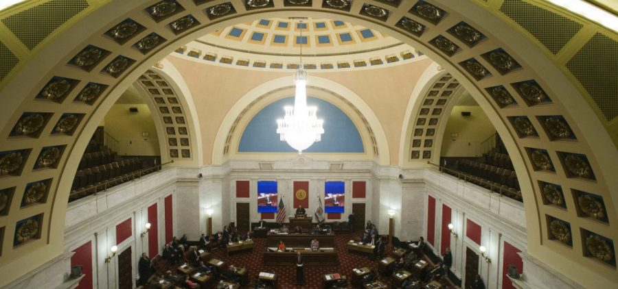 The West Virginia Senate Chambers