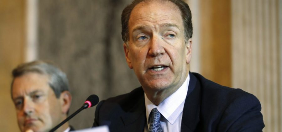 David Malpass, a conservative with longstanding ties to President Trump, has been nominated to run the World Bank, which he has criticized.