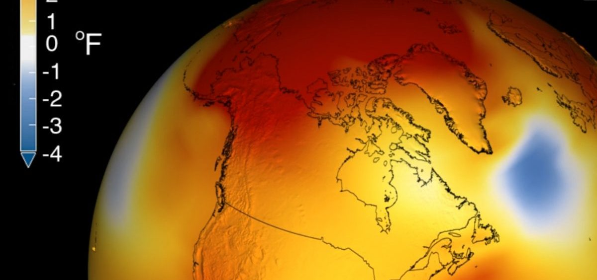 Earth's long-term warming Kathryn Mersmanntrend can be seen in this visualization of NASA's global temperature record, compared to a baseline average from 1951 to 1980.