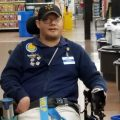 "John Combs is a ""people greeter"" at a Walmart in Vancouver, Wash. But he has been told that come April 25, his job is going away. And he is not alone."