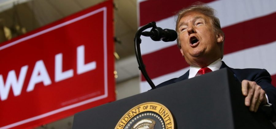 A supporter of President Trump attacked a cameraman at the president's rally at the El Paso County Coliseum in El Paso, Texas, according to the BBC.