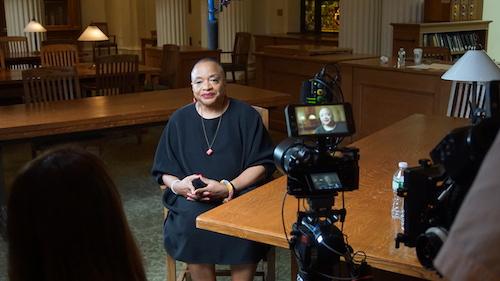 Professor and American artist Deborah Willis