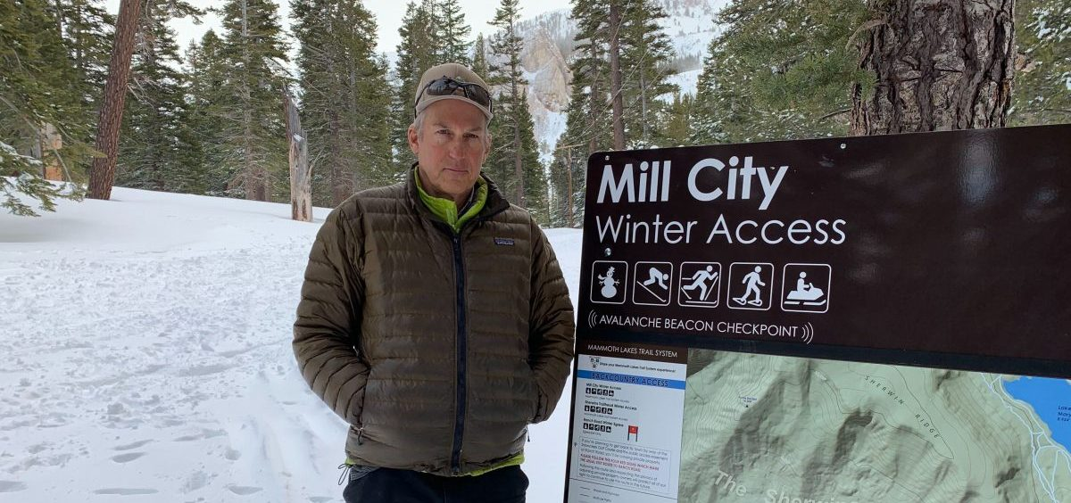 John Wentworth, a Mammoth Lakes Town Council Member, started a local nonprofit a few years ago to promote better access to public lands and more cooperation between local and federal agencies.