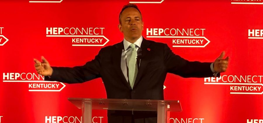 Kentucky Gov. Matt Bevin at an event