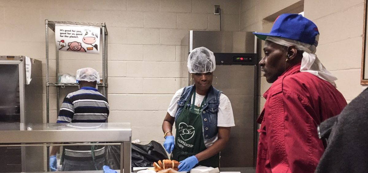 The Franciscan Center in Baltimore serves a hot lunch daily to those who need extra help, even if they receive food stamps. Those benefits could end for 755,000 able-bodied adults.