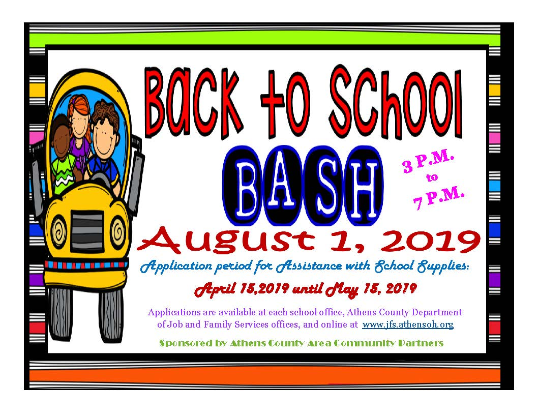 Athens County Back to School Bash - WOUB Public Media