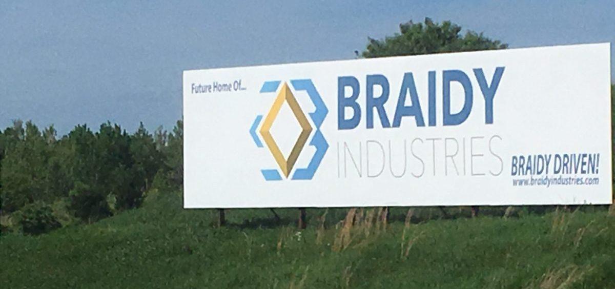 The site near Ashland, KY, where Braidy plans a new aluminum facility.