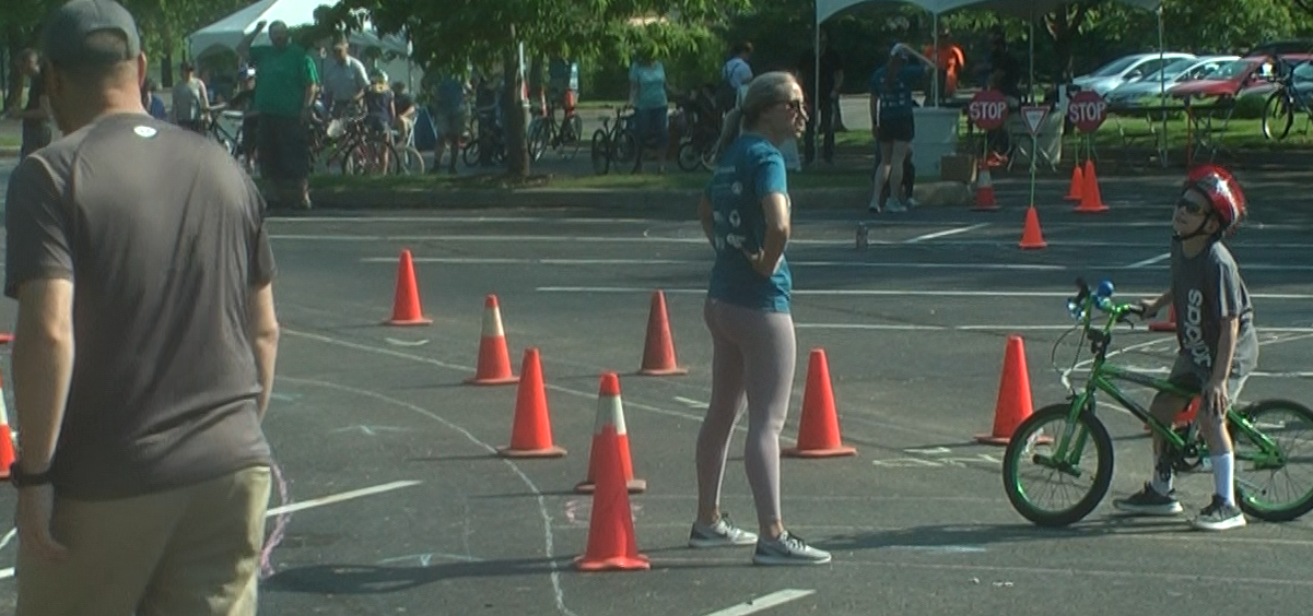 Bike Rodeo Teaches Children Safety Woub Public Media