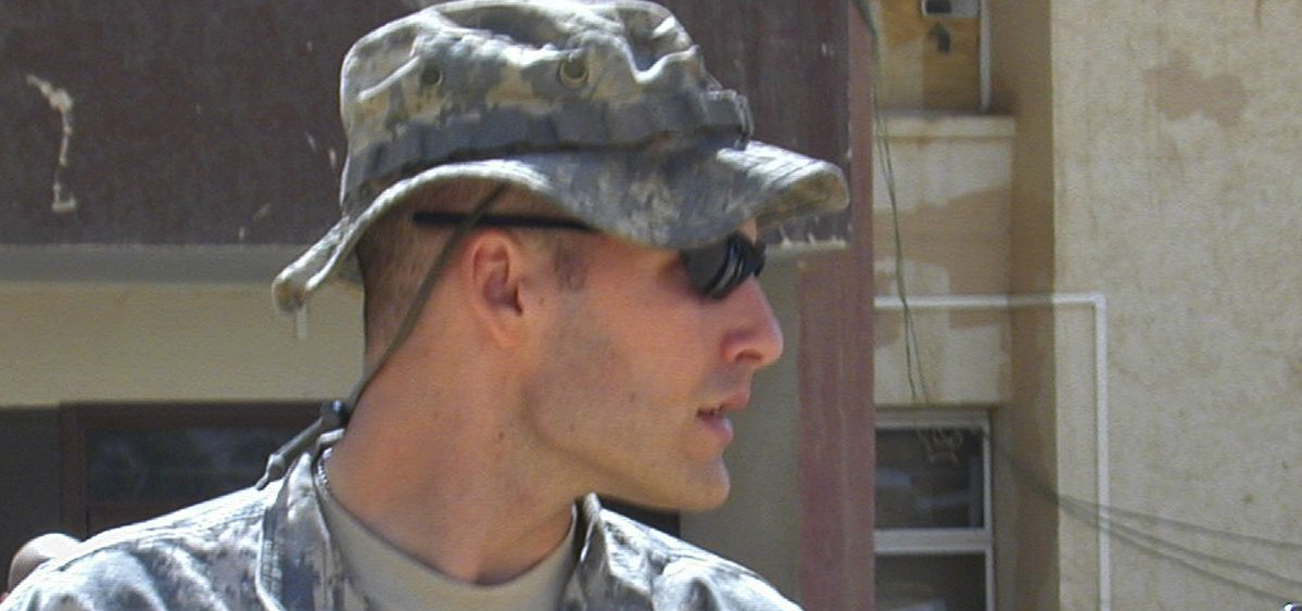 Former 1st Lt. Michael Behenna, seen here in 2008, has received a presidential pardon over the killing of an Iraqi detainee.