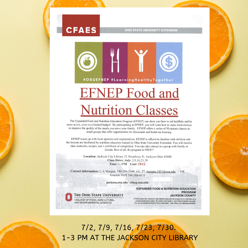 EFNEP Food and Nutrition Class - WOUB Public Media