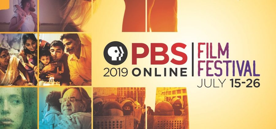 logo screen for the PBS 2019 Online Film Festival