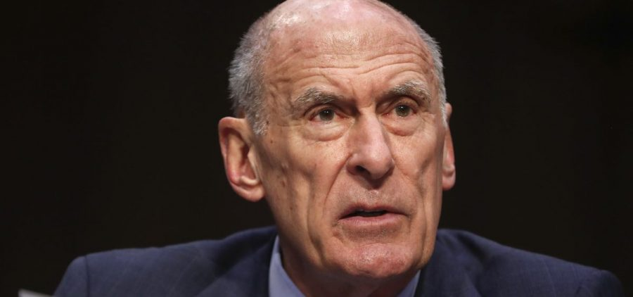 Director of National Intelligence Dan Coats testifies before the Senate Armed Services Committee on Capitol Hill in Washington on March 6. On Friday he announced a new election security czar for the agency.