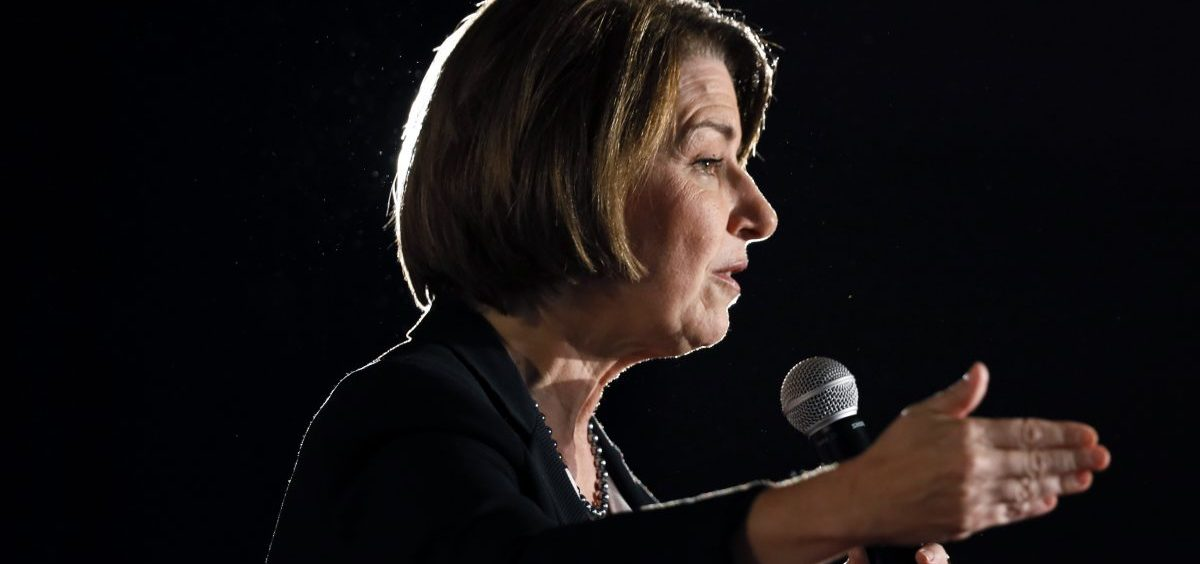 Democratic presidential candidate Sen. Amy Klobuchar of Minnesota has been one of the most vocal 2020 contenders on election security and cybersecurity.