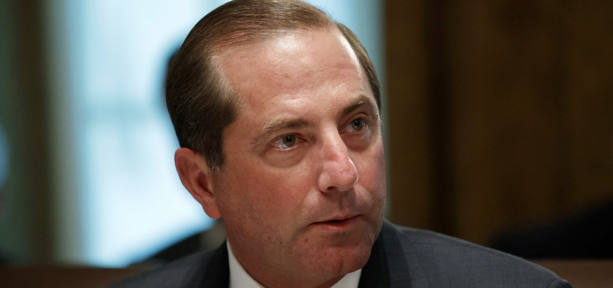 """""""This is the next important step in the Administration's work to end foreign freeloading and put American patients first,"""" Health and Human Services Secretary Alex Azar said in a statement detailing a plan to allow Americans to import certain prescription drugs from Canada."""