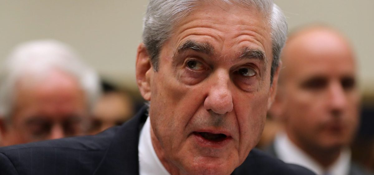 Former special counsel Robert Mueller makes an opening statement before testifying to the House Judiciary Committee about his report on Russian interference in the 2016 presidential election on Wednesday.